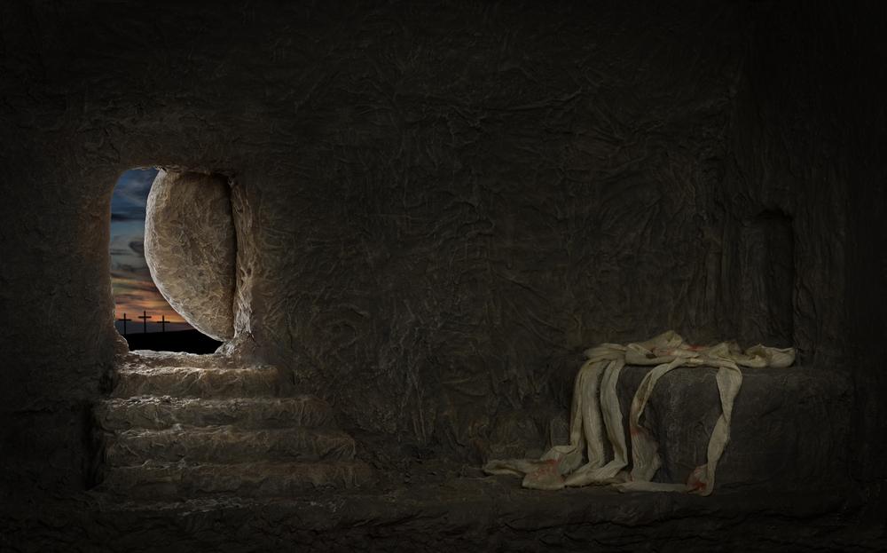부활절의 유래, 2000년 전 예수님의 묘실