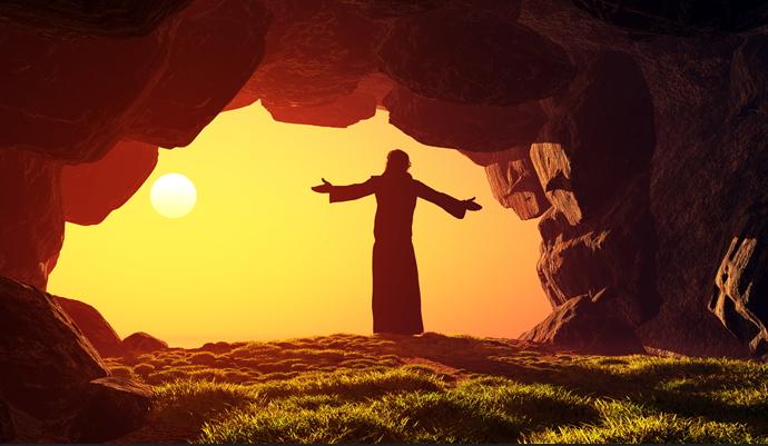 부활절 유래, 3일만에 부활하신 예수님