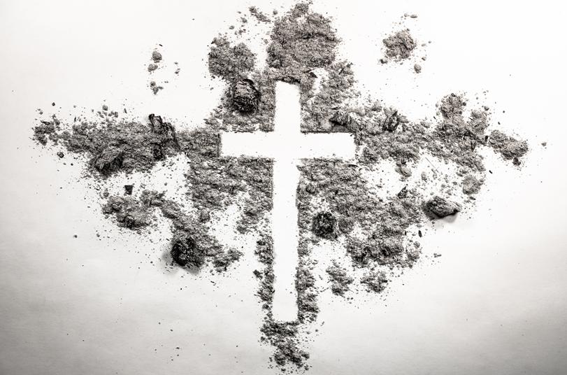 2017년 부활절, 개신교 일부 교파에서 드리는 재의 예식